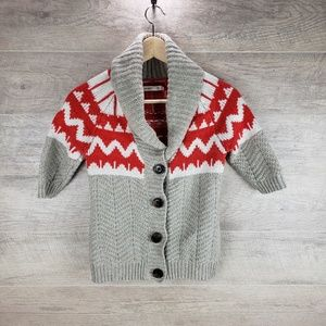 Old Navy Button Sweater